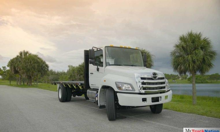Hino 268A Flatbed Trucks
