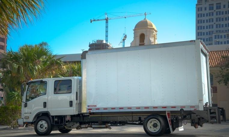 Isuzu NQR HD Crew Cab Box Truck